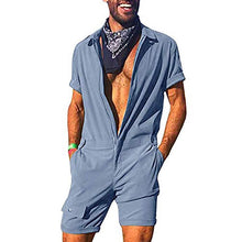 Load image into Gallery viewer, Street Fashion Slim Fit Pure Colour Romper