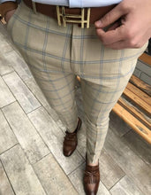 Load image into Gallery viewer, New Men's Casual Plaid Pants