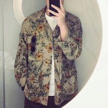 Load image into Gallery viewer, Men's Fashion Print Pocket Jacket