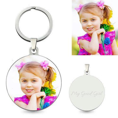 Personalized Photo Keychains With Your Baby Or Family Photo