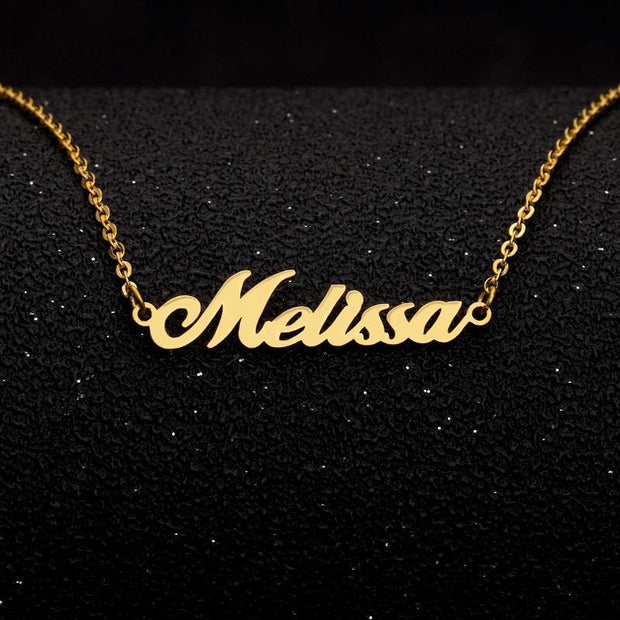 personalized necklace for baby