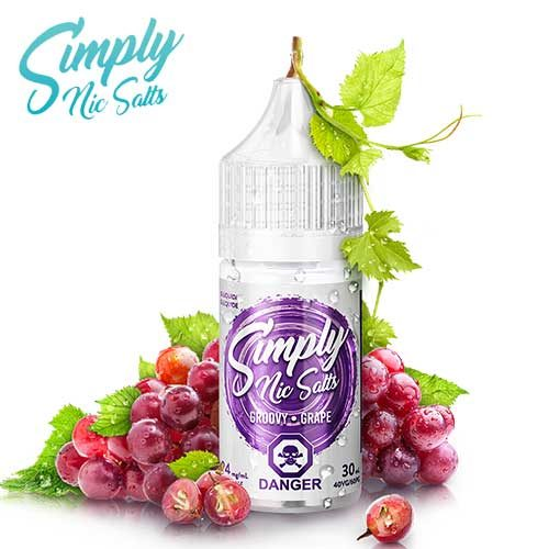 Groovy Grape by Simply Nic Salts - 30ml