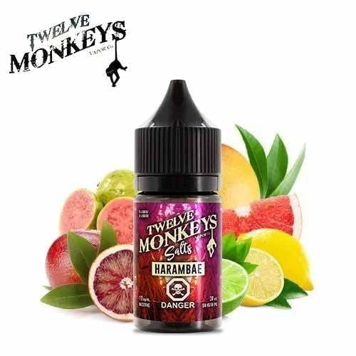 Harambae Nic Salts by Twelve Monkeys - 30ml