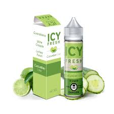 Icy Fresh Cucumber Lime - 60ml