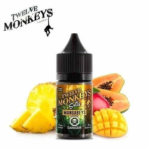 Mangabeys Nic Salt by Twelve Monkeys - 30ml
