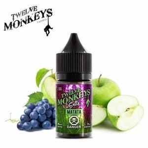 Matata Nic Salts by Twelve Monkeys - 30ml