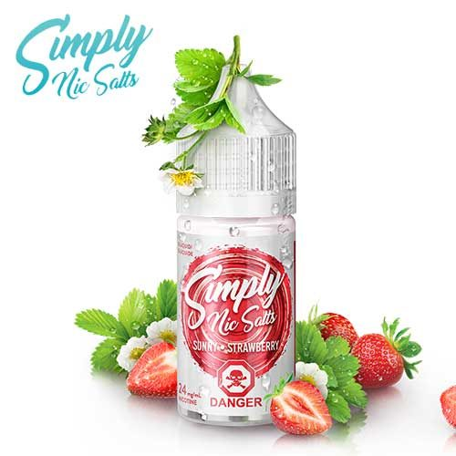 Sunny Strawberry by Simply Nic Salts - 30ml