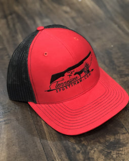 TNSP Original Red Trucker Hat
