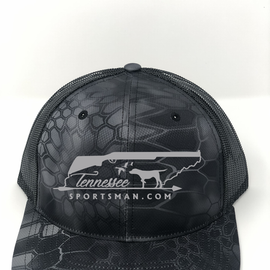 TNSP Original Black Camo Trucker Hat