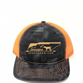 TNSP Original Camo & Neon Orange Hat