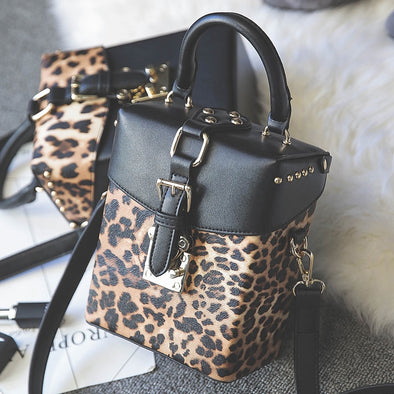 Mini Leopard Designer Bag