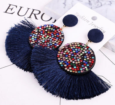 Tassel earrings luxury