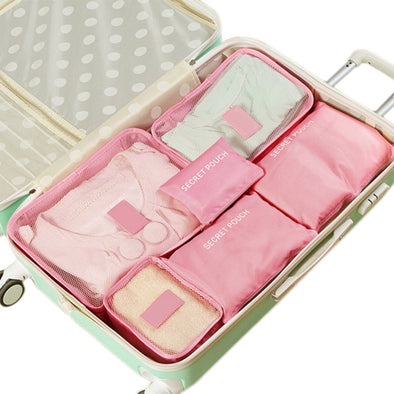 Travel Luggage Storage Organizer  6PCs/Set