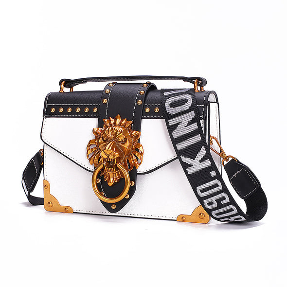 Fashion Metal Lion Head Handbag