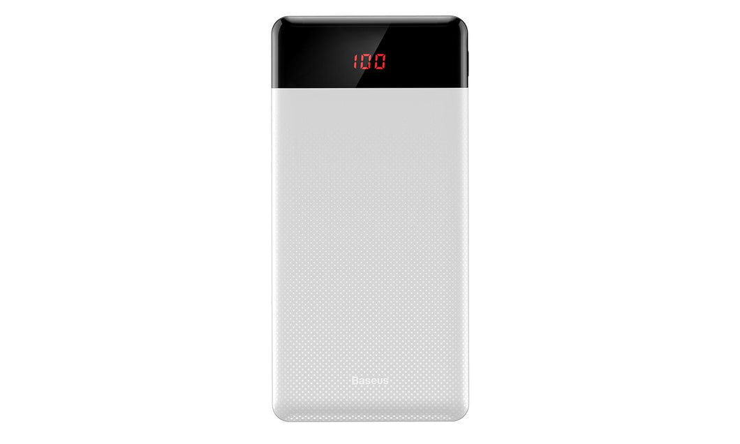 Baseus 10,000mAh Powerbank Portable Charger 2 PORTS