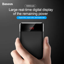 Load image into Gallery viewer, Baseus 10,000mAh Powerbank Portable Charger 2 PORTS