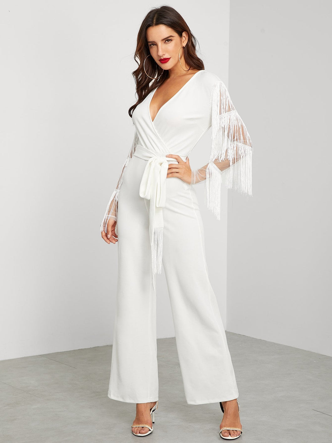 The Fringe Benefit Jumpsuit