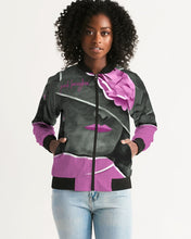 Load image into Gallery viewer, Pink Boughie Signature Women's Bomber Jacket
