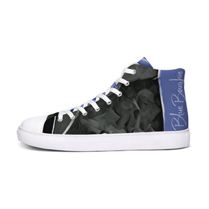 Blue Boughie High Top Canvas Shoes