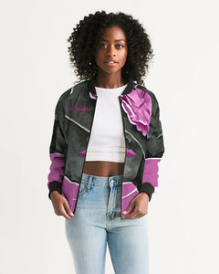 Pink Boughie Signature Women's Bomber Jacket