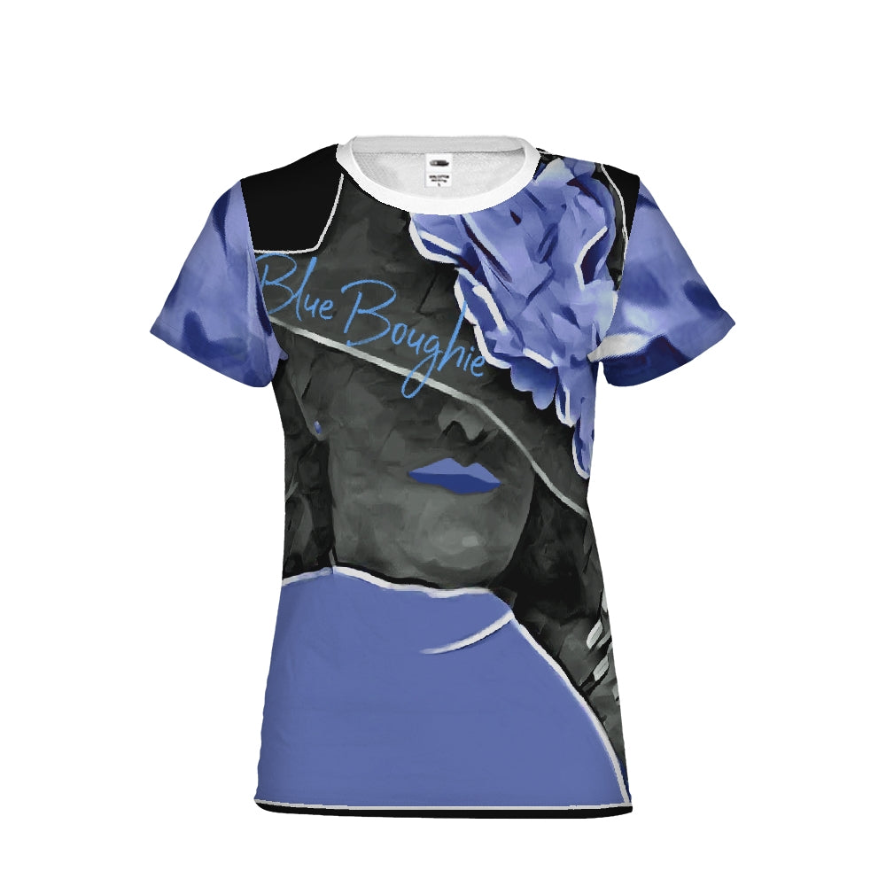 Blue Boughie  Signature  Women's Fashion Tee
