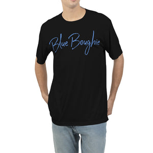 Blue Boughie  Signature Cursive Men's Tee