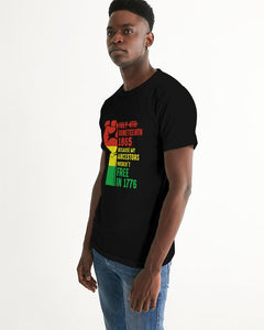 Black Boughie Men's Juneteenth Tee