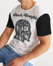Load image into Gallery viewer, Black Boughie Black King Men's Tee