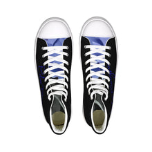 Load image into Gallery viewer, Blue Boughie Special  Edition Unisex Hightop Canvas Shoe