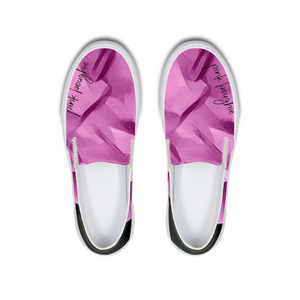 Pink Boughie Signature Clothing- Canvas shoe