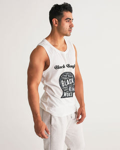 Black Boughie Black King Men's Sports Tank