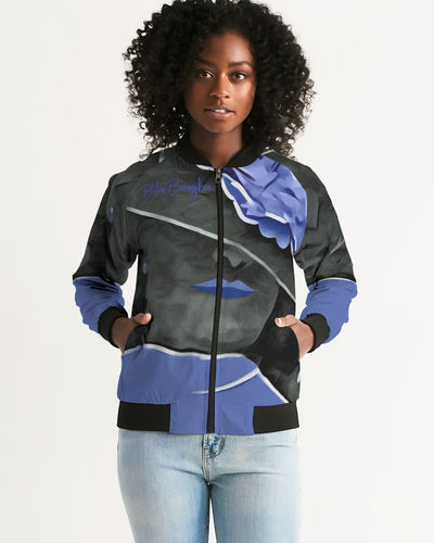 Blue Boughie Signature Women's Bomber Jacket