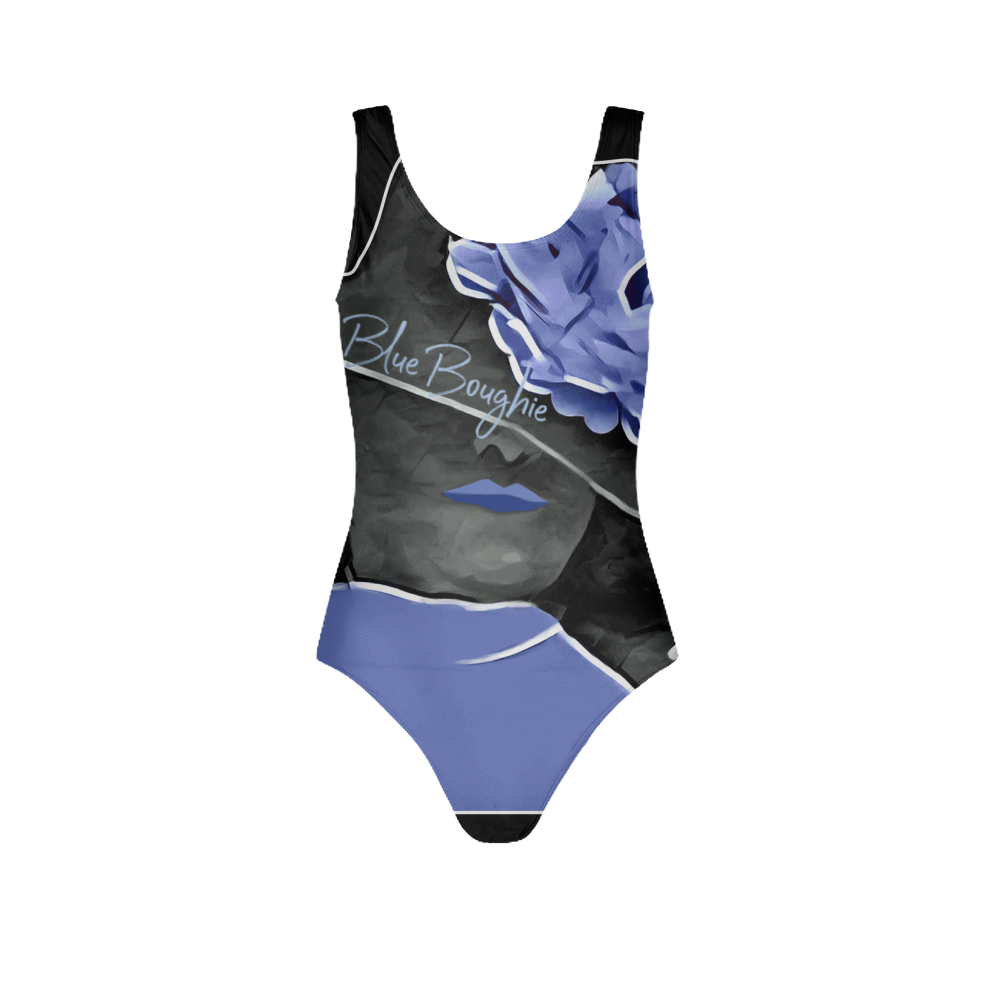 Blue Boughie Women's One-Piece Swimsuit