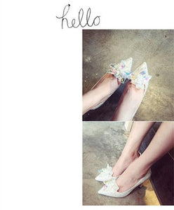 Crystal Rhinestone Wedding shoes