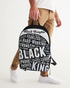 Black Boughie Black King Large Backpack