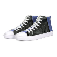 Load image into Gallery viewer, Blue Boughie High Top Canvas Shoes