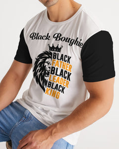 Black Boughie Black Father  Men's Tee