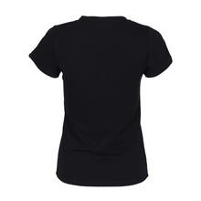 Load image into Gallery viewer, Pink Boughie Signature Clothing Black Tee