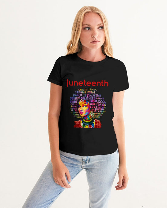 Black Boughie Women's Juneteenth Tee