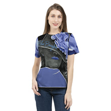 Load image into Gallery viewer, Blue Boughie  Signature  Women's Fashion Tee