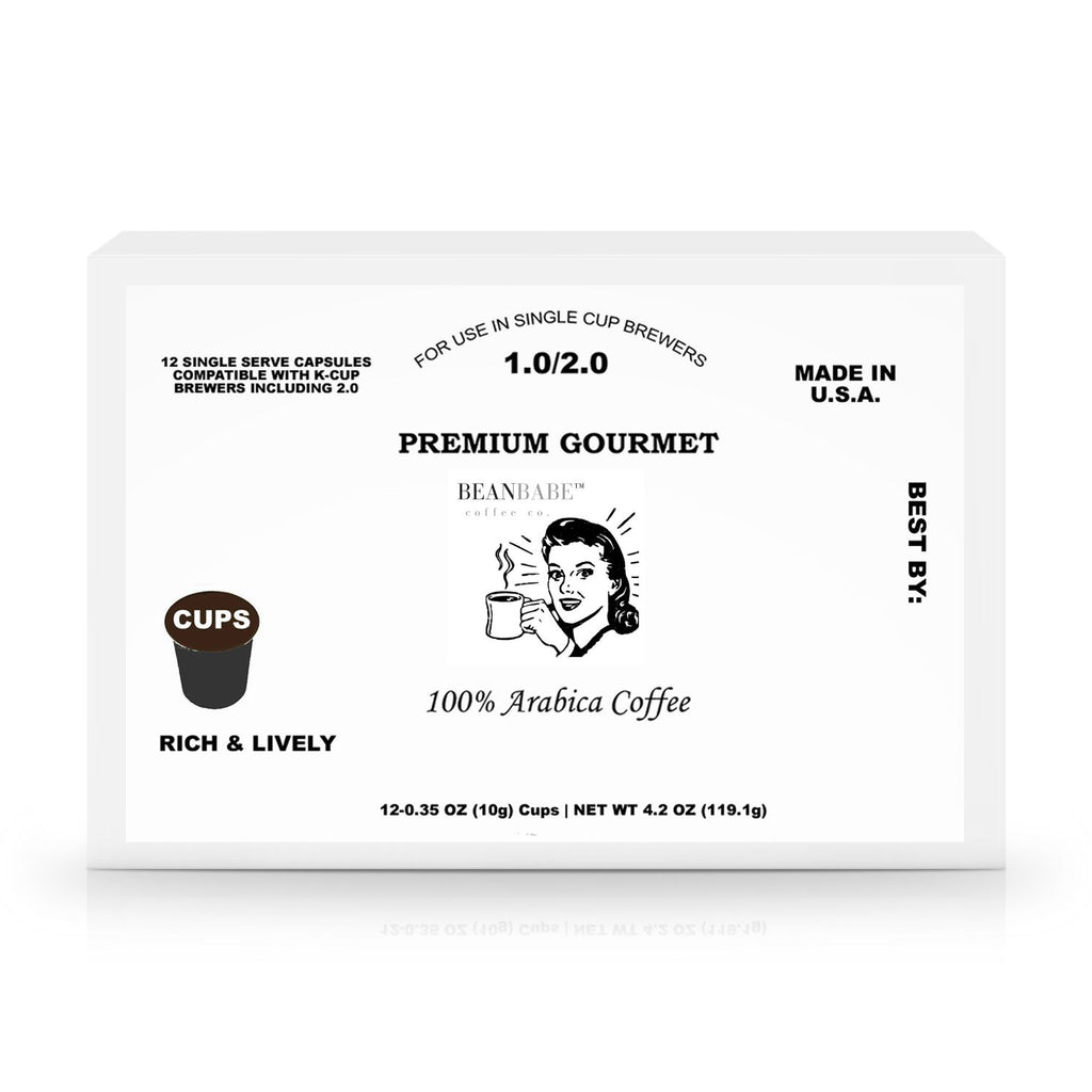 "The ""Andrea"" - 12 Pack Single Serve Coffee Capsules"