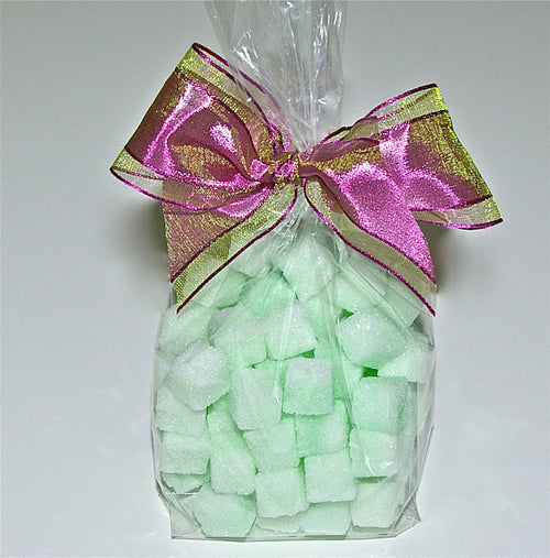 Mint Flavored Sugar Cube