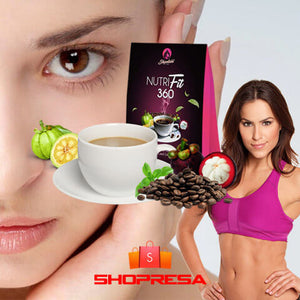 NutriFit Slimming and Whitening Coffee