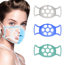 Load image into Gallery viewer, 3D Large Softer Face Mask Bracket for More Breathing Space
