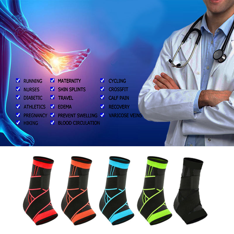 MODERATE -- SPORT Ankle Compression Brace