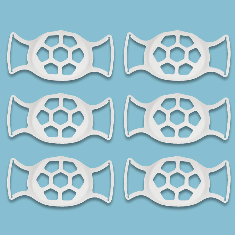 3D Large Softer Face Mask Bracket for More Breathing Space
