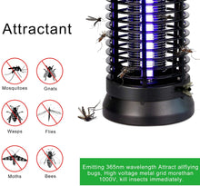 Load image into Gallery viewer, Bug Zapper, Electric Mosquito Killer