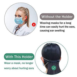Anti-skid Head-mounted Hanging Ear Artifact(10 PCS)