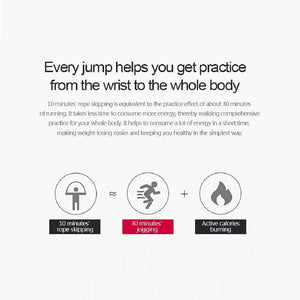Jump Rope for Aerobic Exercise Like Speed Training,Endurance Training and Fitness Gym(170g/330g/430g)