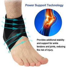 Load image into Gallery viewer, MODERATE - SPORT Adjustable Elastic Ankle Brace